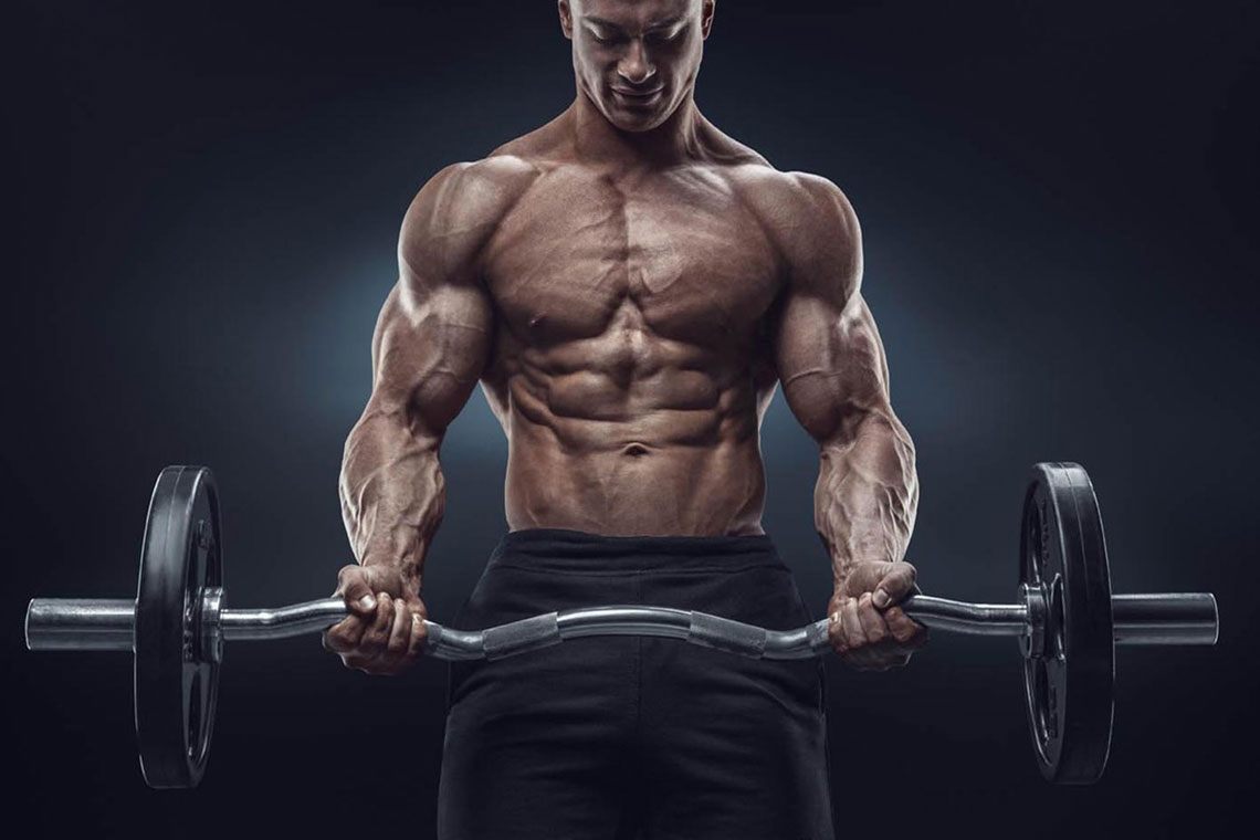 Weight lifting builds muscle -